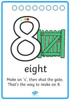 Number Formation – 8