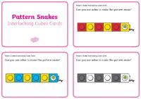 pattern-snakes-interlocking-cubes-cards_