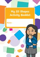 2d shapes activity booklet