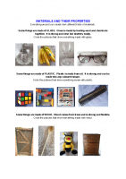 Materials and their properties (1)