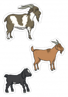 the-three-billy-goats-gruff-small-world cut outs