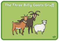 the-three-billy-goats-gruff-story sequence with words