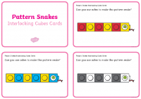 pattern-snakes-interlocking-cubes-cards_