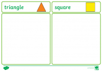 2D Shape Sorting Activity more difficult