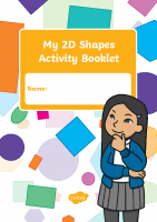 2d shapes activity booklet