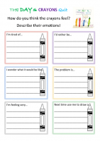 The day the crayons quit PSHE (1)