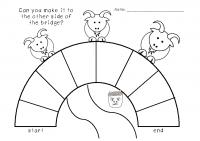 3 Billy Goats Phonis Bridge Game board