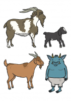 The-Three-Billy-Goats-Gruff-Stick-Puppets