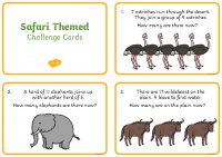 au-n-436-safari-themed-addition-and-subtraction-word-problems-to-20-challenge-cards